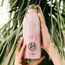 Clima Bottle 850ml Pink Marble