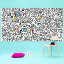 Poster Omy XXL Keith Haring