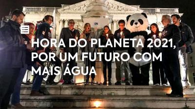 Hora do Planeta 2021, por um futuro com mais água!