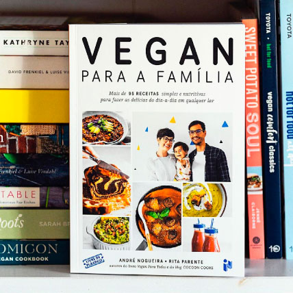 Livro Vegan para a Família de Rita Cook